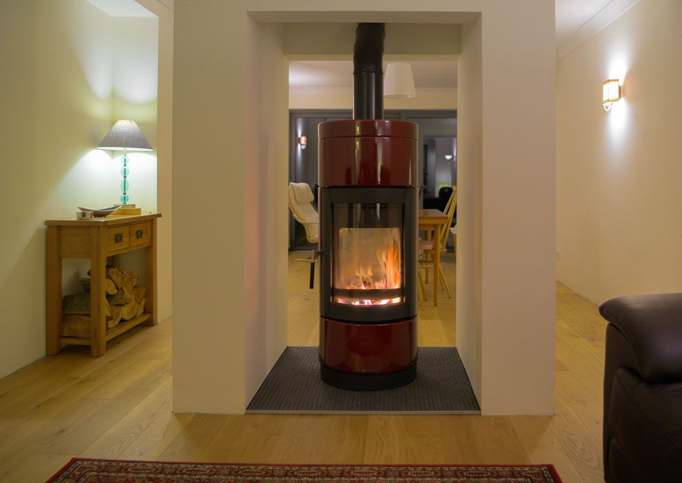 La Nordica Fortuna Double Sided Wood Burning Stove From Fireplace Products - La Nordica Fortuna Double Sided Wood Burning Stove From Fireplace