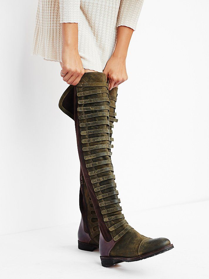Free People Black Forest Over The Knee Boot | Black forest, Knee ...