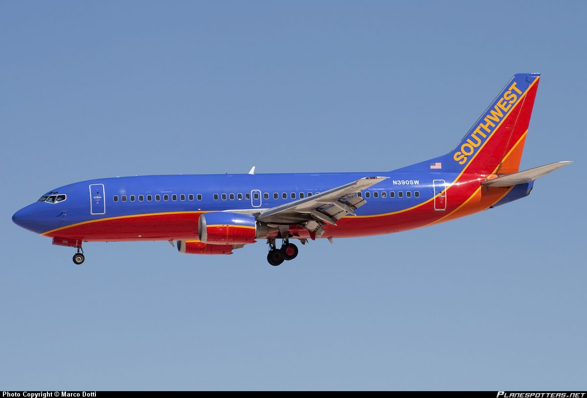 Boeing 737-300 Flew on one of these too