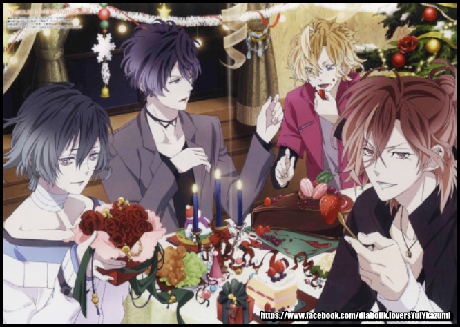 mukamis | Diabolik lovers more blood | Diabolik, Diabolik