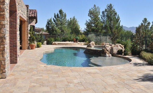 pool pavers, stone pavers swimming pool chip-n-dales landscaping