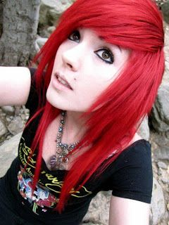red emo hair  google search  bright red hair dye red