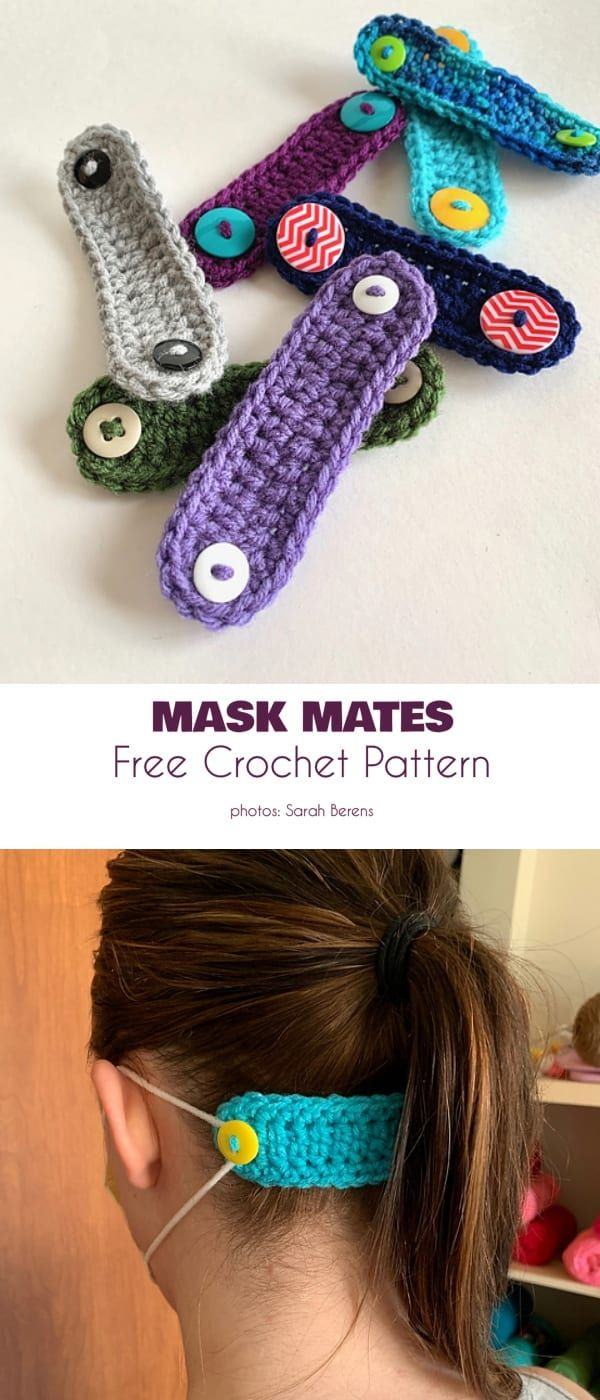 Mask Mates Free Crochet Patterns