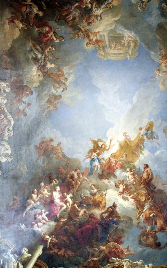 Versailles Some Of A Ceiling Classic Art Renaissance Art Art Wallpaper