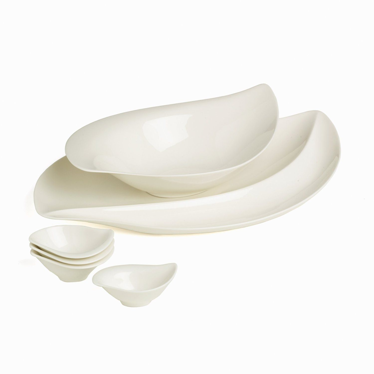 Villeroy Boch New Wave Cottage 6 Piece Serving Set Casual