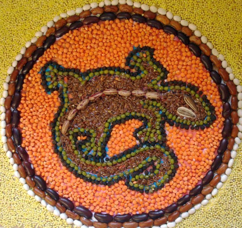 mozaiky z luštěnin - Hledat Googlem