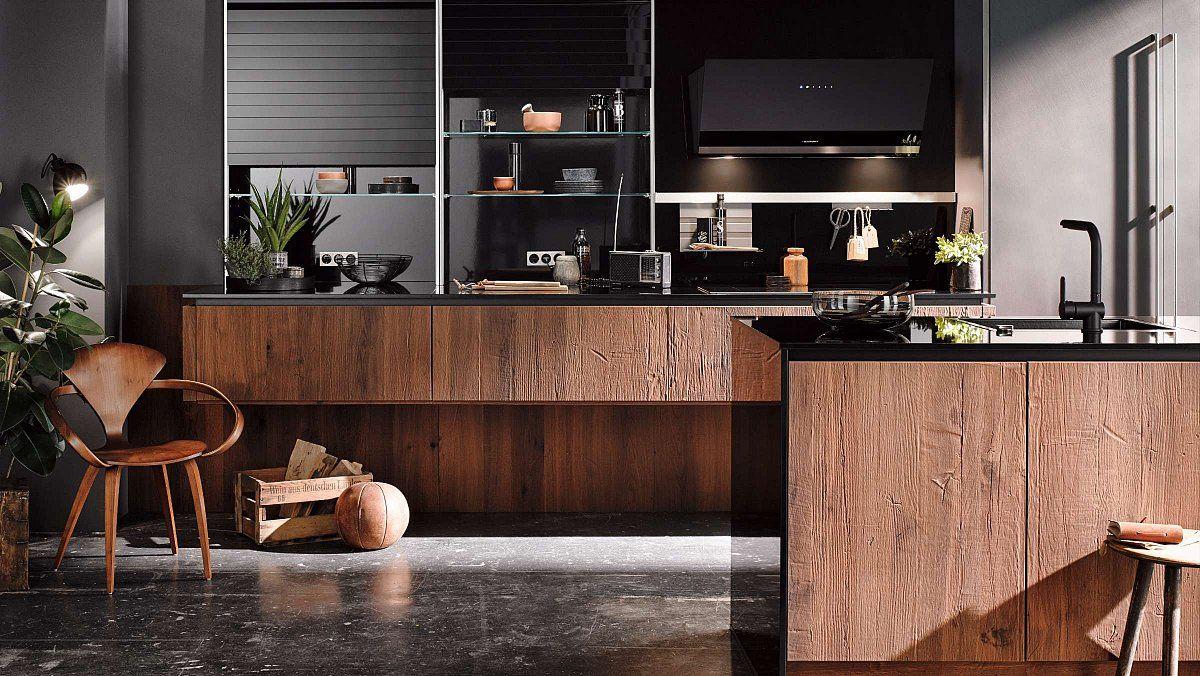 Keukenloods.nl gerookt hout robuuste houten keuken ben jij