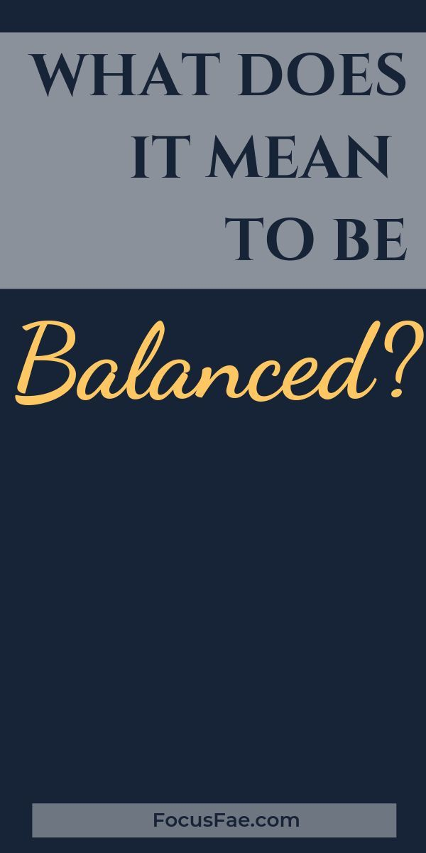 What does work-life balance even mean? Or what does it ...