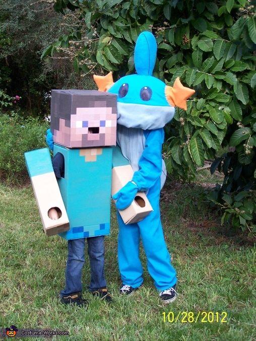 Steve from Minecraft - Halloween Costume Contest at Costume-Works - minecraft halloween costume ideas
