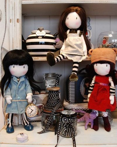 Gorjuss Cloth Dolls