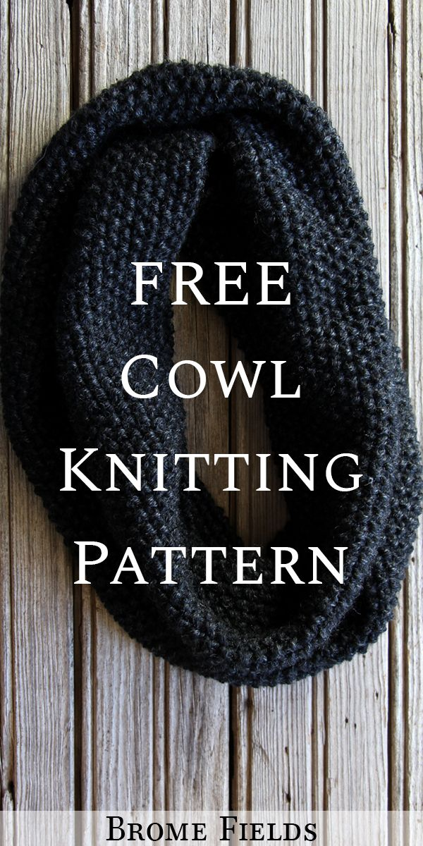 Photo of {FREE} ENDEAVOR : Cowl Knitting Pattern – Brome Fields