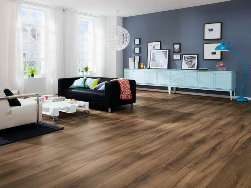 Cool Living Room With Laminate Flooring