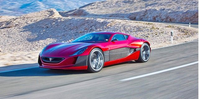 What Does A 1088 Hp Rimac Electric Supercar Sound Like At Speed Video Super Cars Electric Cars Vehicles