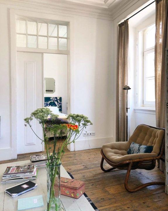 Photo of inside lisbon's baixa house. / sfgirlbybay