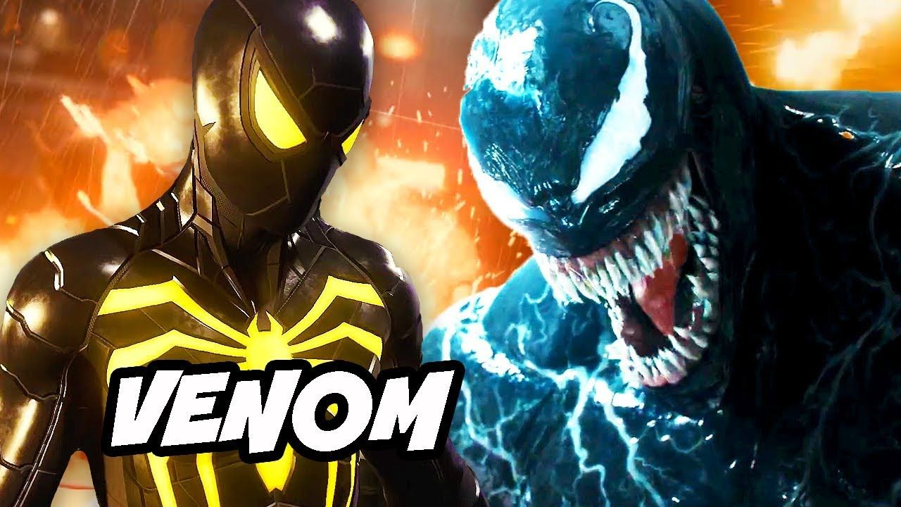 spider-man ps4 final boss scene - venom sequel easter eggs