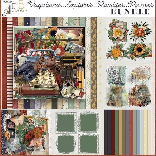 Digital Art :: Bundled Deals :: Vagabond...Explorer...Rambler...Pioneer Bundle