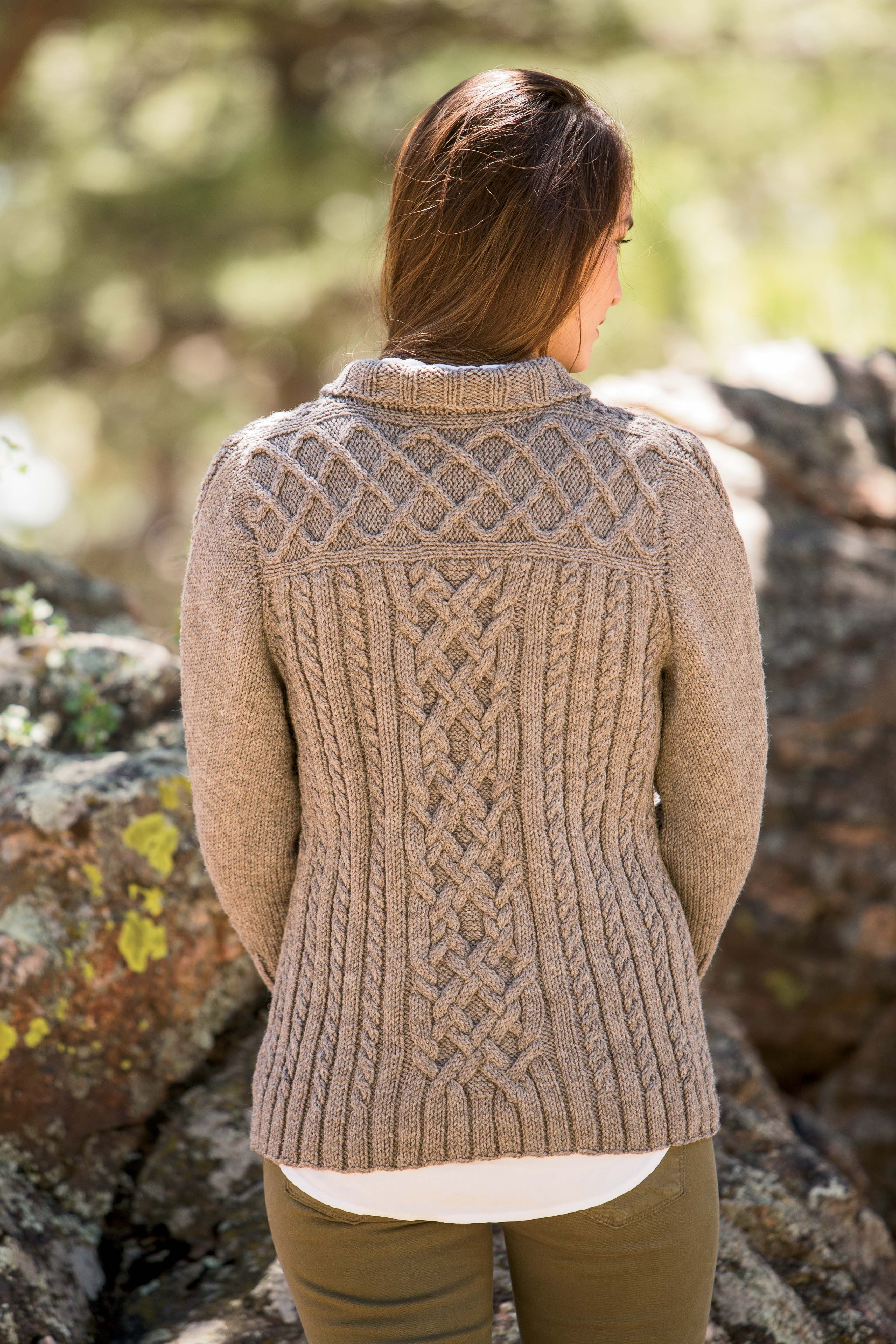 Knitted Yarn Patterns and Knitting Tutorials   Cardigan ...