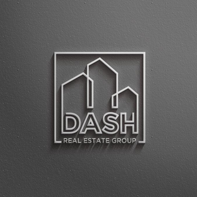 Dash Real Estate Group Logo Dark neutrals,I like that it