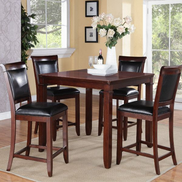 dallas  counter height table  4 stools  dining table in