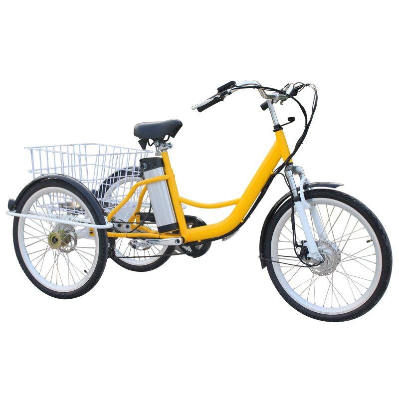 1.12ah lithium battery 2.Both front and rear are disc brake,Yinglong Brand 3.304 stainless spokes with high quality 4.Whole shaft hub with good transmission,corner well 5.Front fork with damping,comfortable 6.Thicker frame,more stronger 7.Anti theft saddle