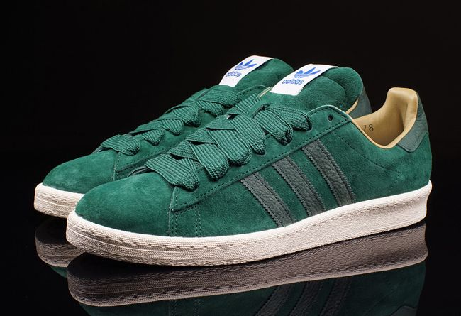 adidas campus 80s green shoes