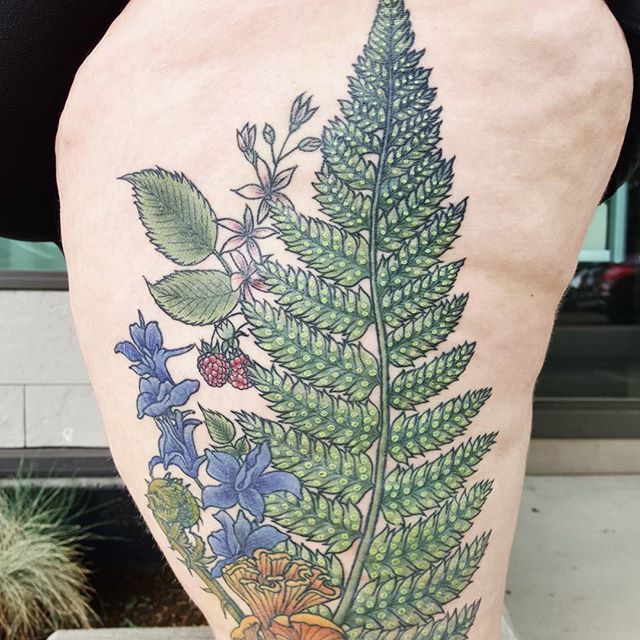 Pin By Mackenzie Wright On Cover Ups In 2020 Botanical Tattoo Whimsical Tattoos Plant Tattoo