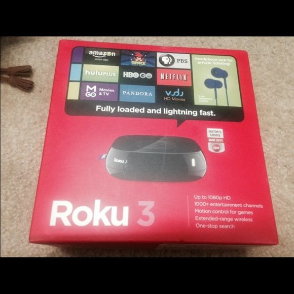 Roku 3 streaming device ROKU 3 STREAMING PLAYER 4230R