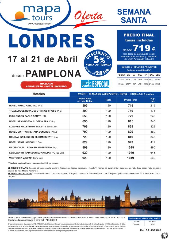 Londres Semana Santa salida Pamplona 17 Abril **Precio Final desde 719** ultimo minuto - http://zocotours.com/londres-semana-santa-salida-pamplona-17-abril-precio-final-desde-719-ultimo-minuto-12/