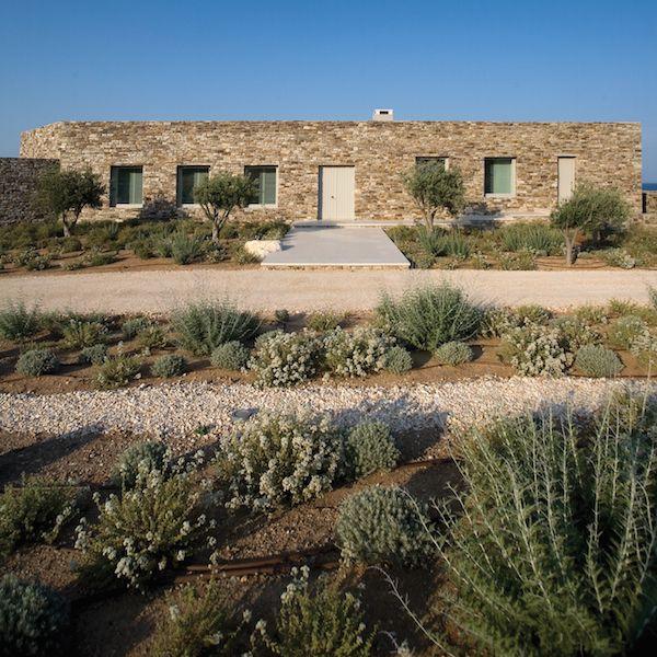 Private residence Antiparos, Greece Landscape designed by - Residence Vacances Ardeche Avec Piscine