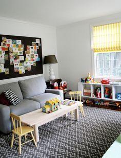 Playroom Office Area
