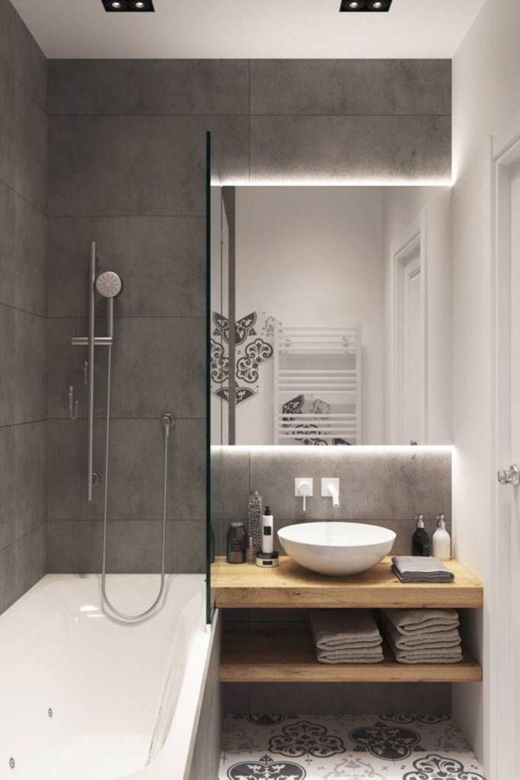 Photo of Nice 30 Brilliant Scandinavian Bathroom Design und Dekor für kleine Häuser 24homel …  #bath…