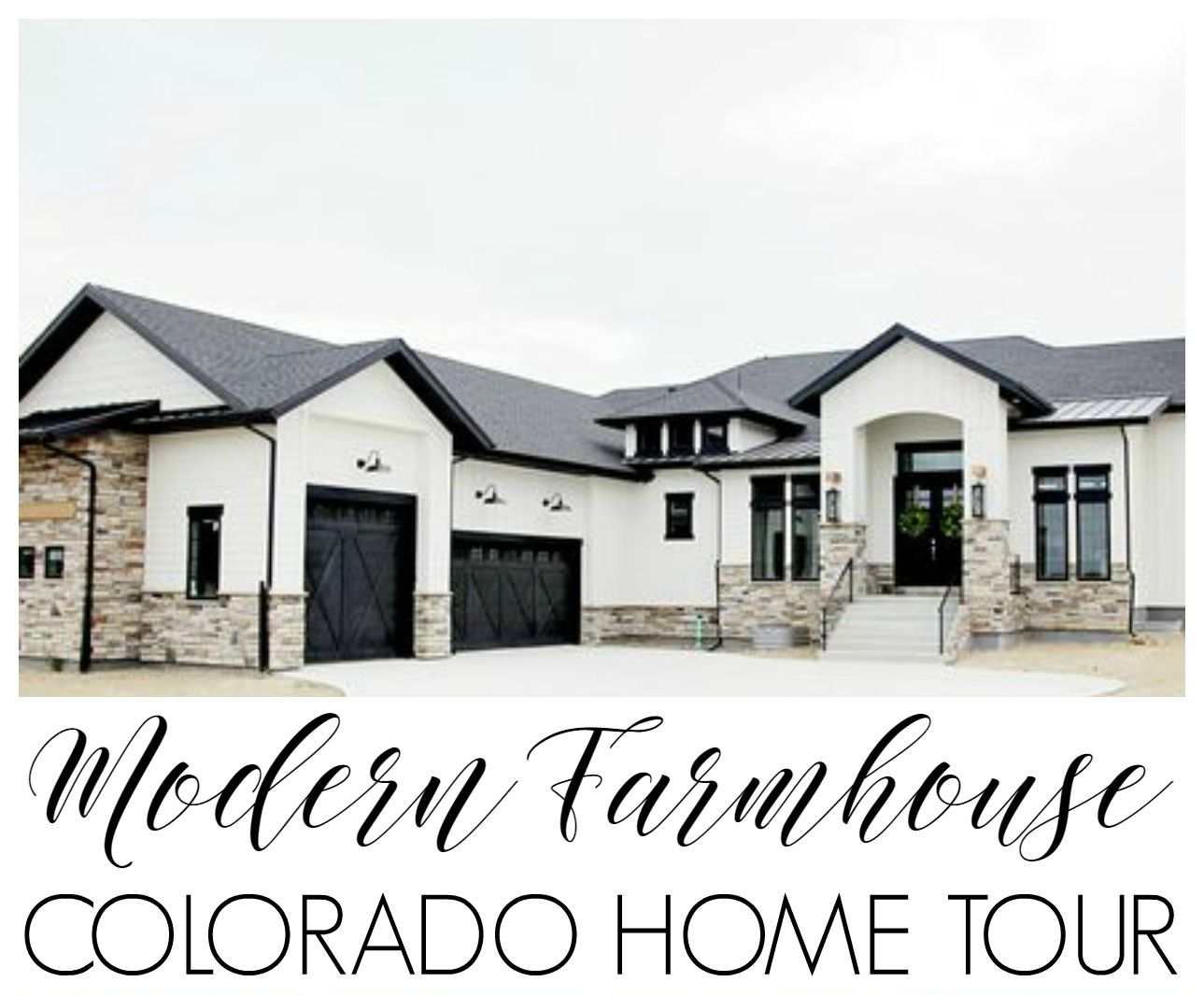 Df5411 esquemas de color casa exteriores con persianas negras - Casas