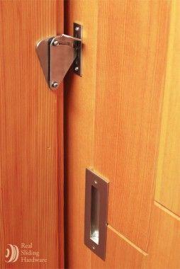 Teardrop Privacy Lock For Sliding Doors Real Sliding Hardware Barn Door Locks Sliding Doors Interior Barn Door Latch