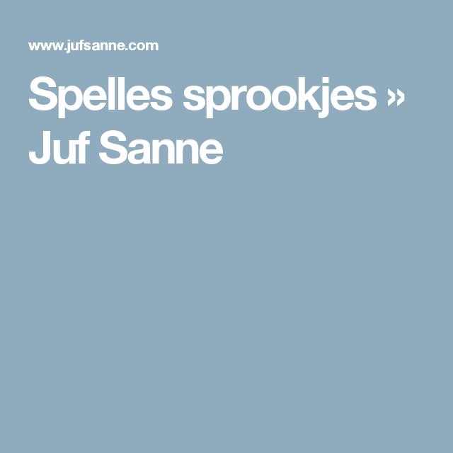 Spelles sprookjes » Juf Sanne