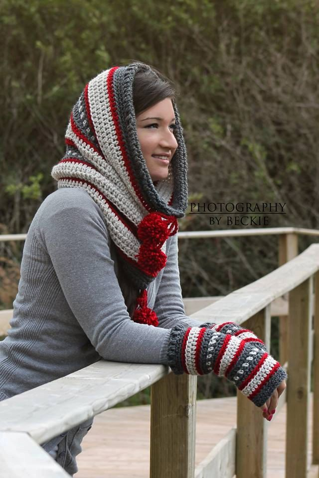 Dylan Hooded Cowl Scoodie Crochet PATTERN pdf by BySincerelyPam ...