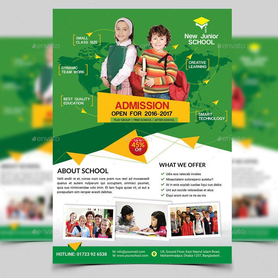 Flyer Design Ideas For School
