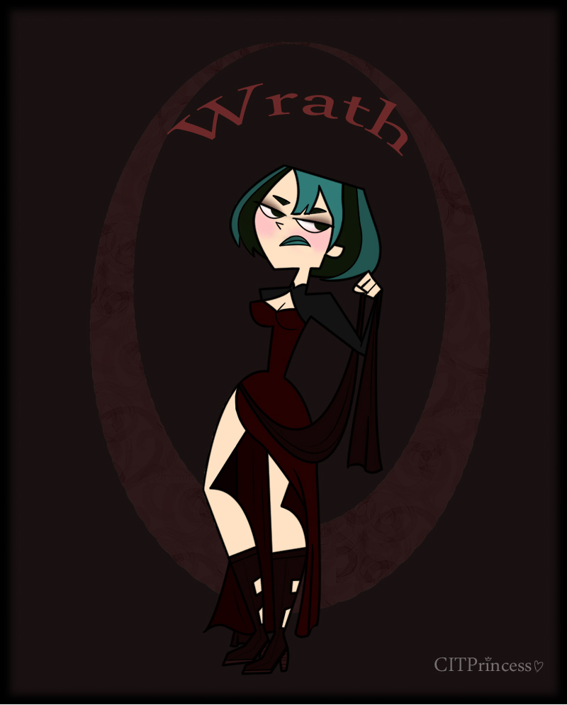 Wrath. Why Gwen?: For Her Enjoyment In Getting Sweet