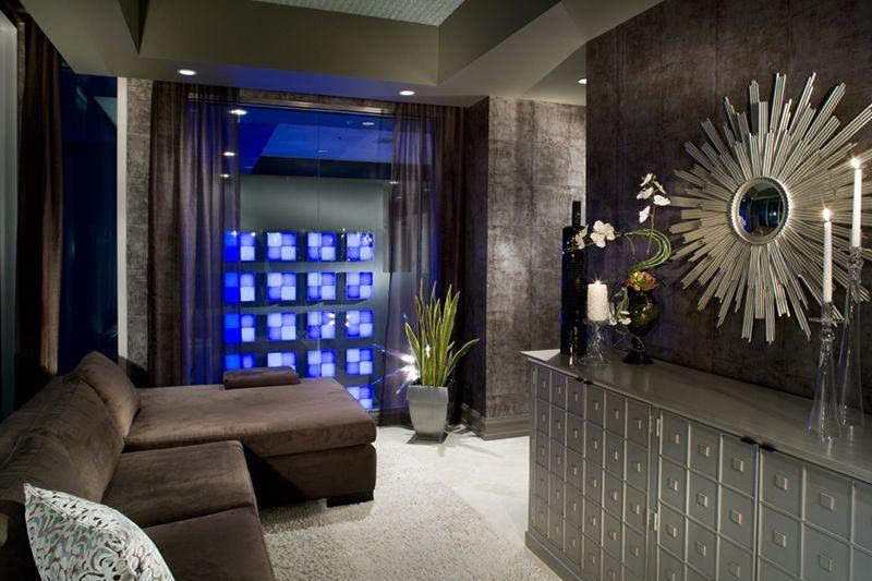 Best Gray Cobalt Blue Silver Interior Design Modern Modern 640 x 480