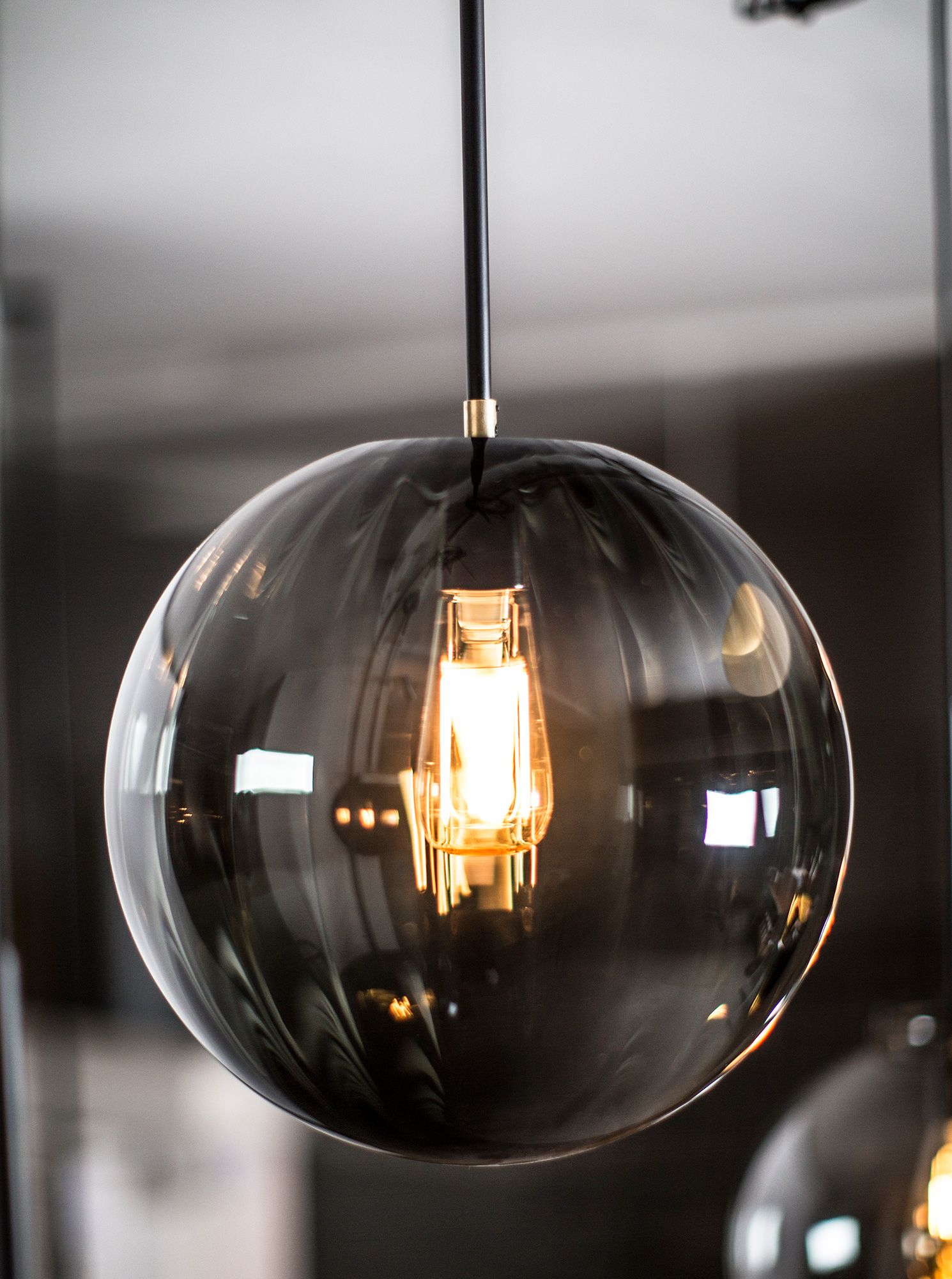 Waldorf pendant with smoked glass by Rubn & Waldorf pendant with smoked glass by Rubn | Pendant Light ...
