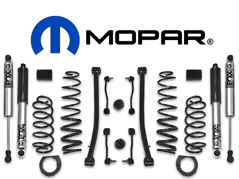 Mopar 2 Lift Kit With Fox Shocks For 20 Up Jeep Gladiator Jt Jeep Gladiator Lift Kits Jeep