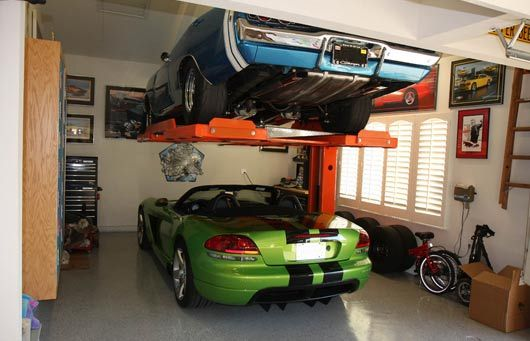 Aclifts automotive parking lift ultimate garages pinterest for Garage pf autos sa cergy
