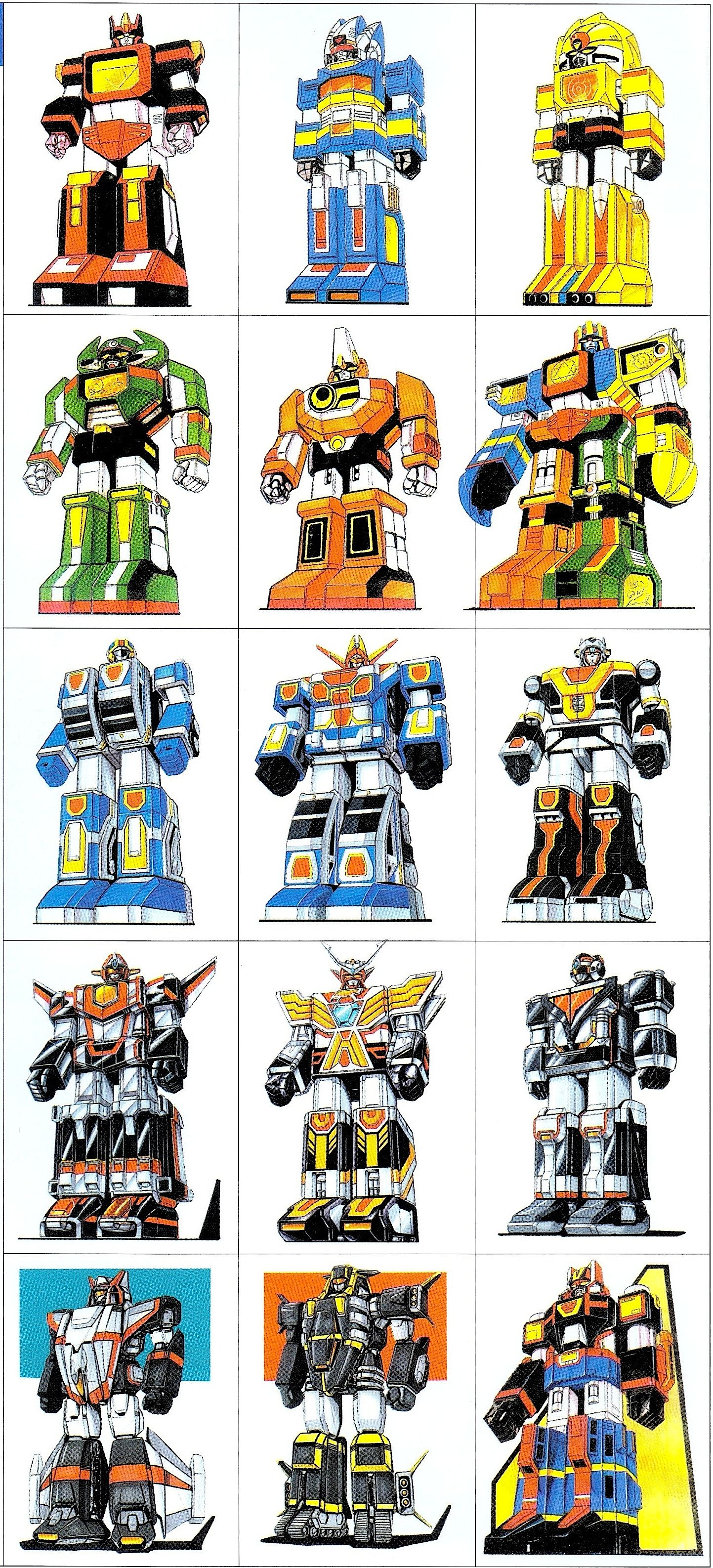 Super Sentai Mecha Concept Art Power rangers art