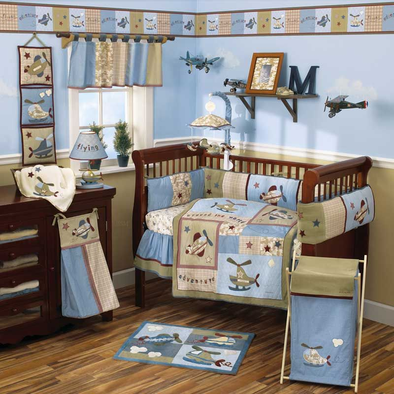 Baby Bedding Sets And Ideas Airplane Baby Room Baby Bedding