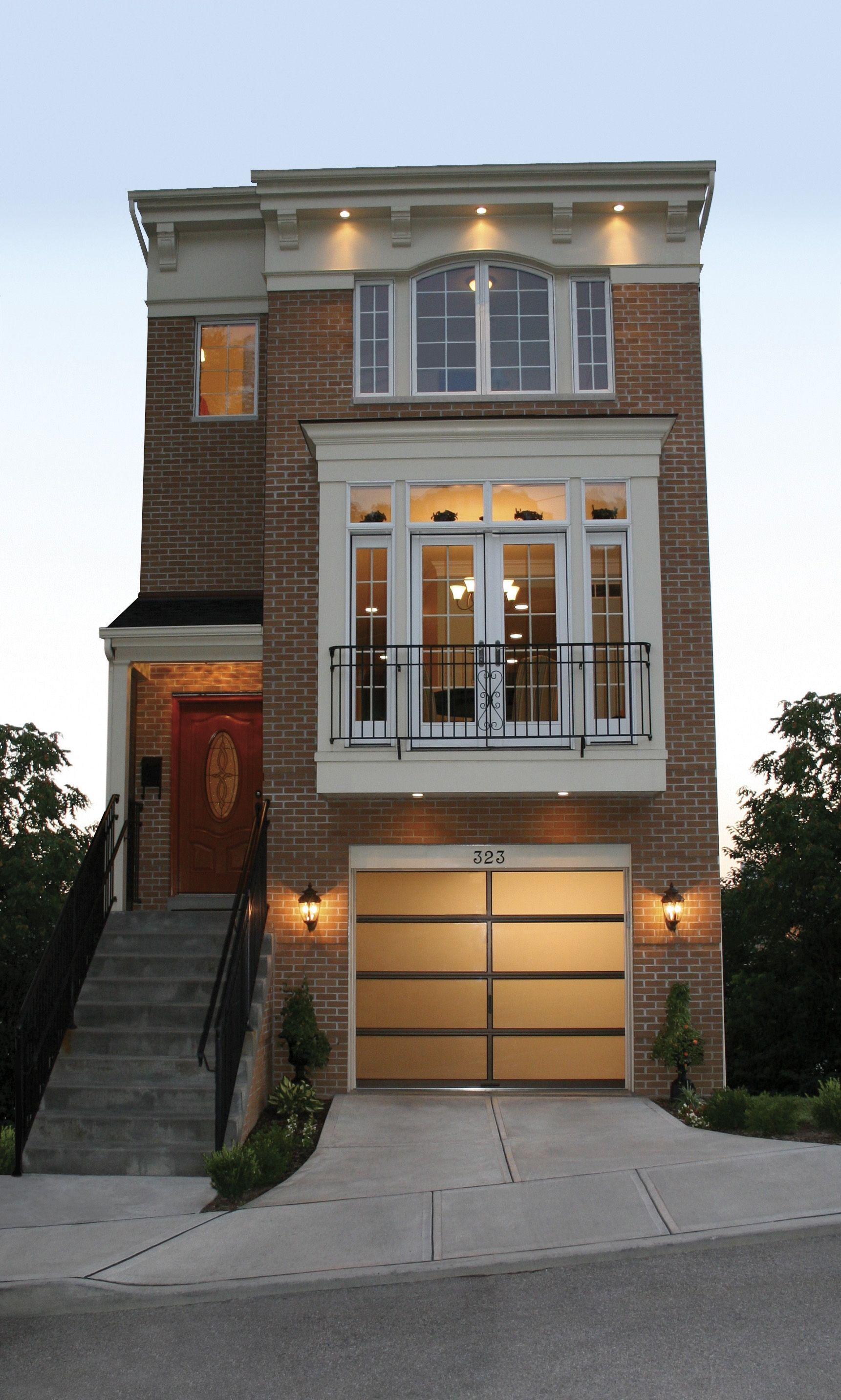 71 Contemporary Exterior Design Photos: Avante Collection - Aluminum Garage Doors - Clopay Door