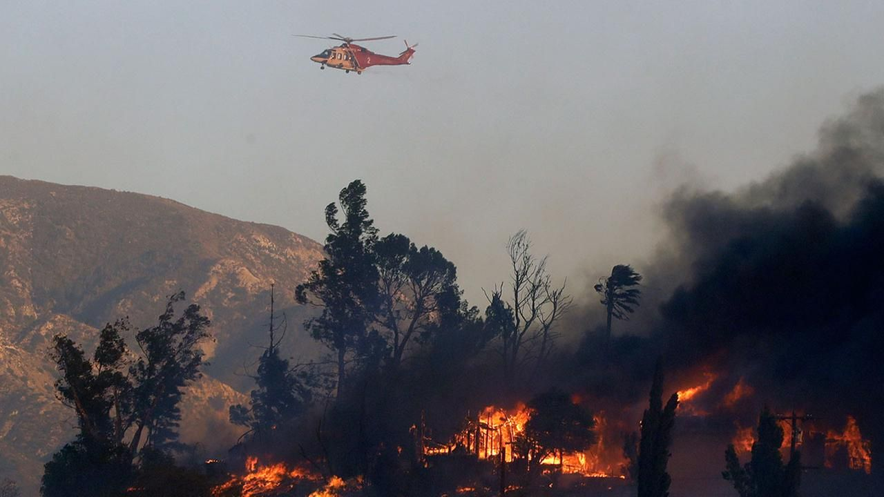 Maps A Look At Each Southern California Wildfire California Wildfires Los Angeles Area Los Angeles