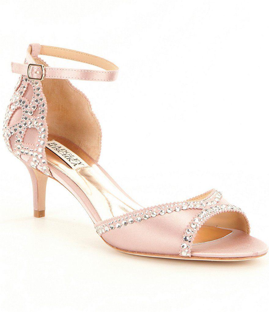 Gillian Jeweled Satin & Suede Ankle Strap Dress Sandals Aq8VVJbm