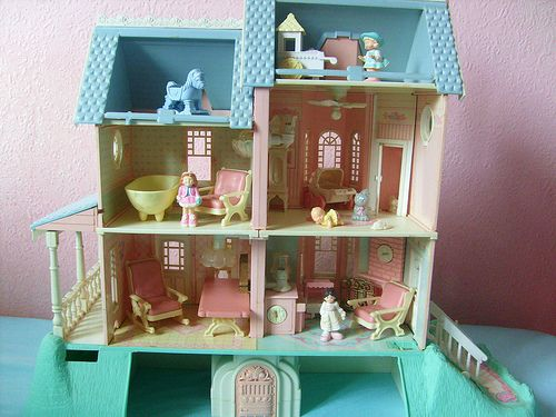 Fisher Price Precious Places Magic Key Mansion By Toys Of The 80s Childhood Toys Old Toys My Childhood Memories