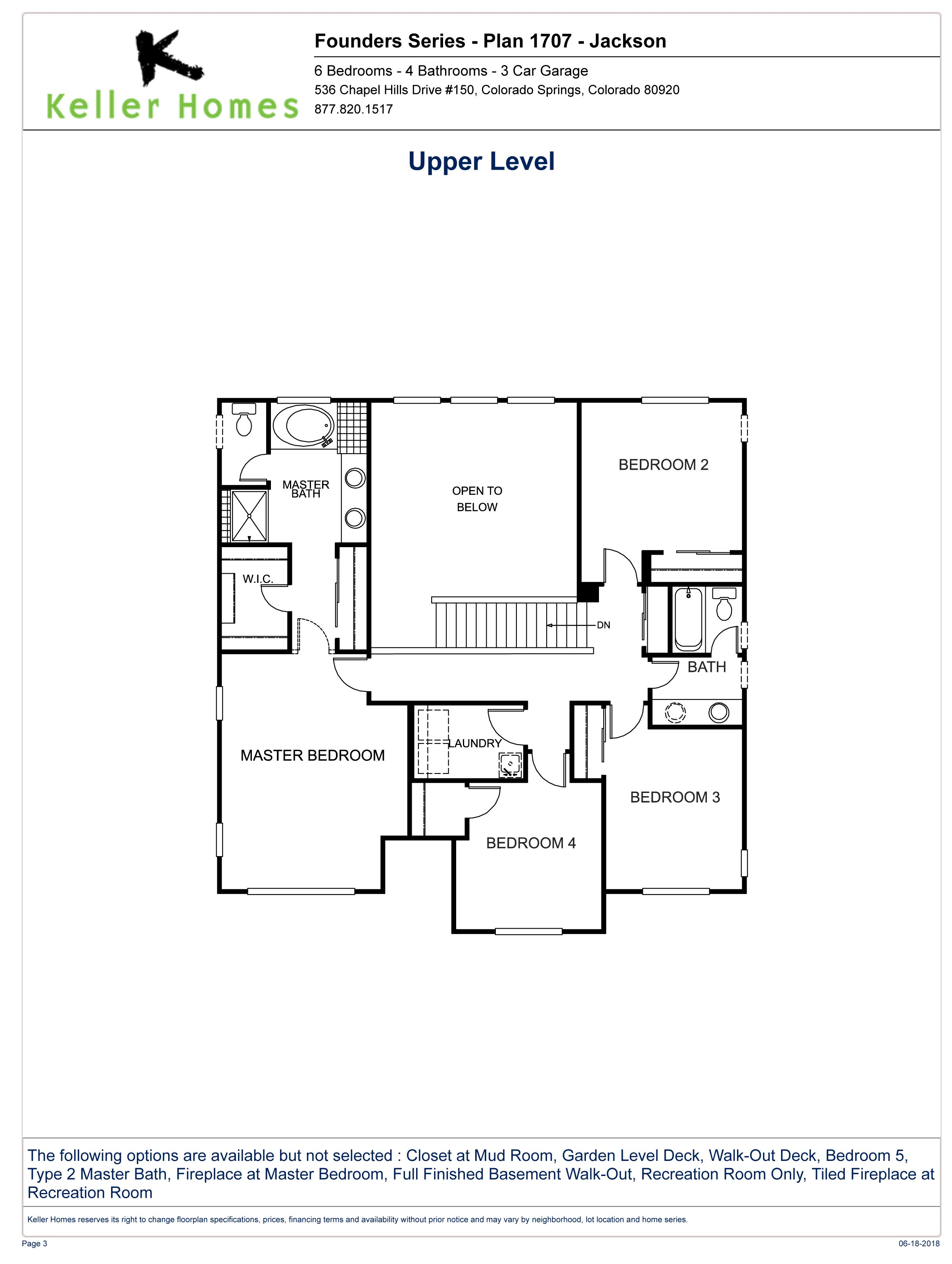 Upper Level Floorplan Jackson Floor Plans How To Plan Jackson