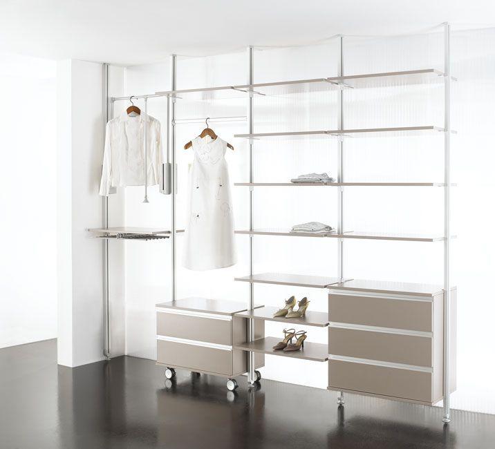 Coulidor Linealu Plan house - dressing Pinterest Mezzanine - roulette de porte de placard