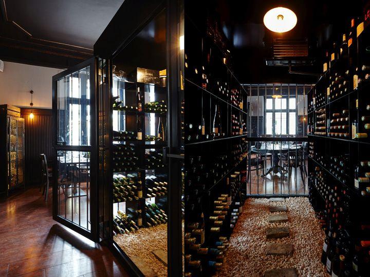Les Innocents Wine Bar & Restaurant by les agenceurs, Strasbourg ...